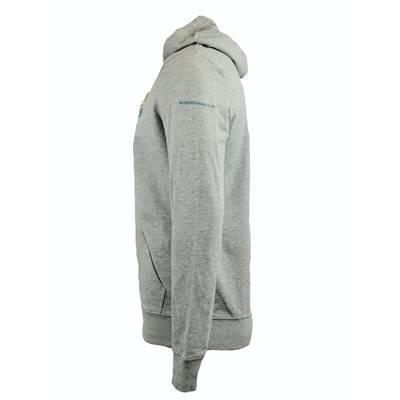 Kapuzensweater Unisex grau